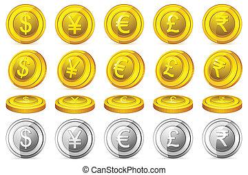 valuta, mynt