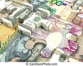 valuta, wereld