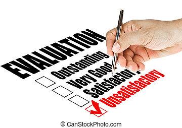 valutazione, qualità, esame