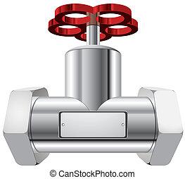 valve vector illustration isolated ties 10