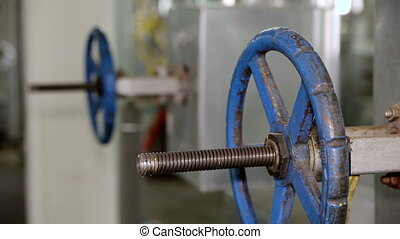 Valve on production. Equipment for the processing of...