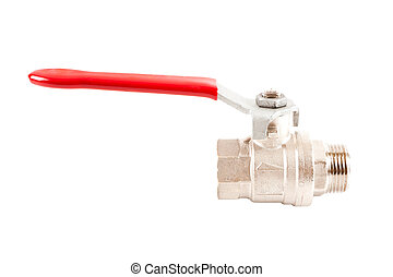 valve on the water