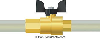 valve. vector