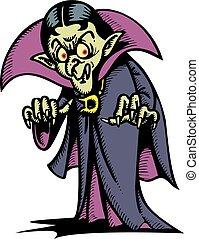 vampir, mann