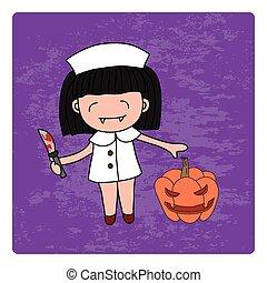 vampir, nurse.