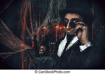 vampire aristocrat portrait