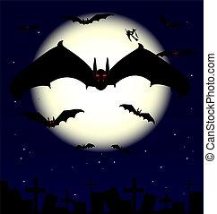 vampiro, murciélagos