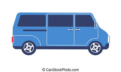 Van car cartoon animated