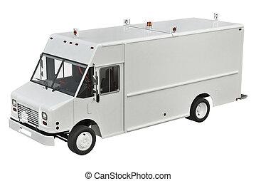 Van car delivery
