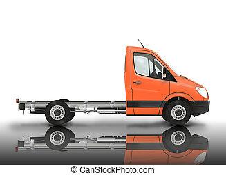 Van chassis.