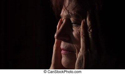 van een vrouw, hoofdpijn