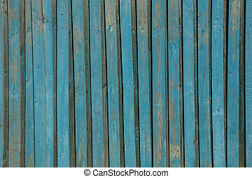van hout grondslagen, oud, blauwe , paint., geverfde