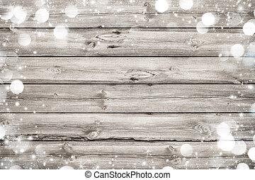 van hout vensterraam, kerstmis, achtergrond
