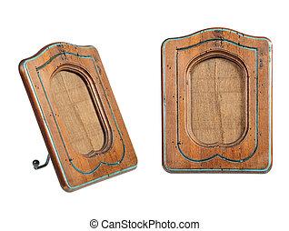 van hout vensterraam, old-fashion