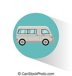 van transport vehicle image