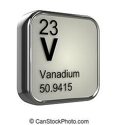 vanadium, 3d, element