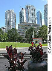 Vancouver BC architecture, Canada.