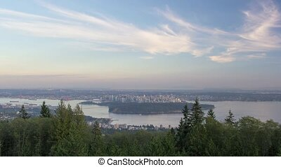 Vancouver BC Canada Landscape