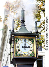 Vancouver BC - Gastown Steam Clock
