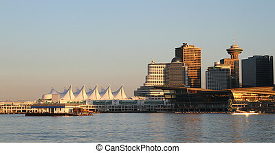Vancouver Canada downtown cityscape