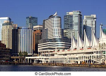 Vancouver Canada Place Pier