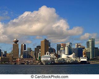 vancouver, cityscape, canada