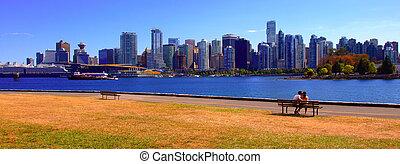 Vancouver cityscape  - Vancouver Canada cityscape