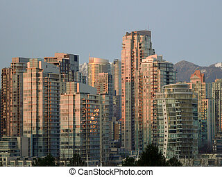 Vancouver, costruzioni,  BC