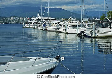 Vancouver Harbor - Vancouver, British Columbia, Canada....