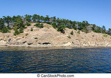 Vancouver island - island of Vancouver Island in Canada