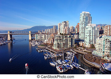 vancouver, kikötő