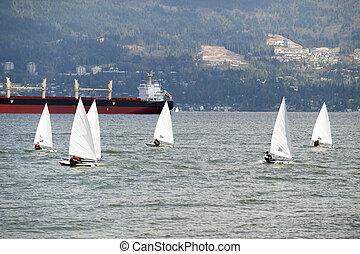 vancouver, mare, navigazione