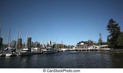 Vancouver Marina - Vancouver's trendy False Creek Marina...