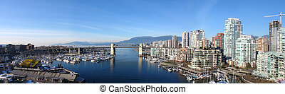 vancouver, panoramatický