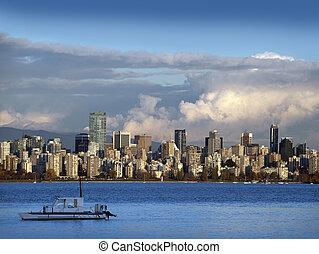 Vancouver - panoramic, horizon