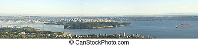 Vancouver Panoramic View