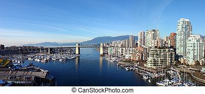 vancouver, panoramiczny