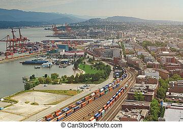 vancouver, port, fret