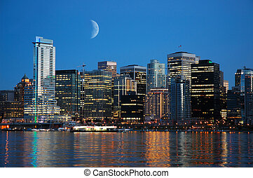 Vancouver Skyline - Vancouver, BC, Canada taken at Stanley ...
