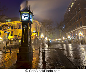 Vancouver Steam Clock - Steam clock in Gastown Vancouver