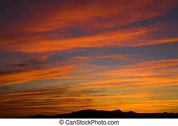 vancouver, tramonto