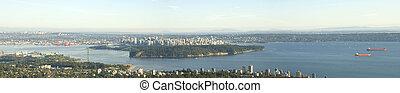 vancouver, vue panoramique