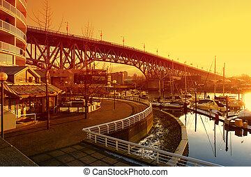 vancouver, waterside