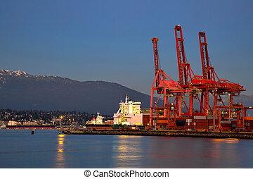 vancouver's, port maritime