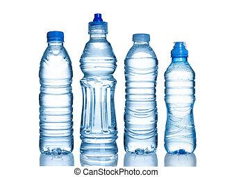 vand flaske, mange