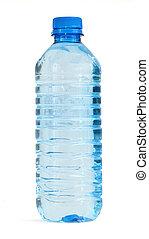 vand, fulde, flaske