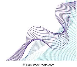 vand, mønstre, sæt