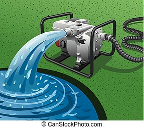 vand pump, generator magt