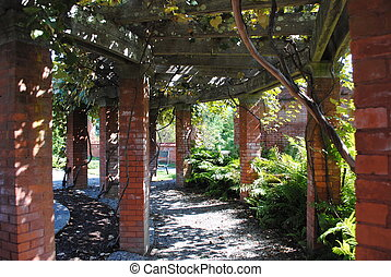 Vanderbilt Garden - Terrace