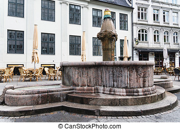 Vandkunsten, fountain in Copenhagen